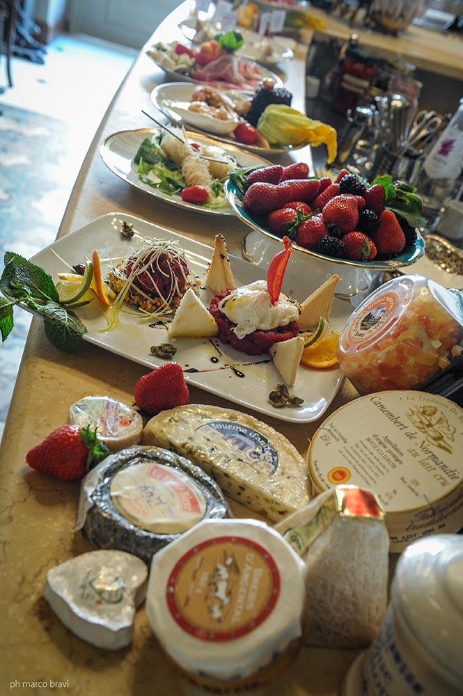 il tagliere dei formaggi da degustazione